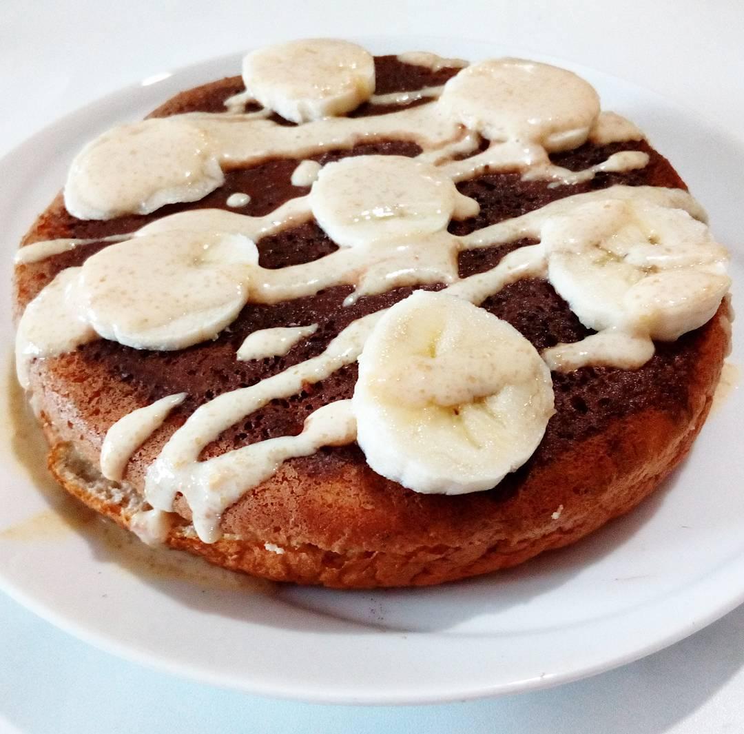 Banana Pancake e Mix di noci