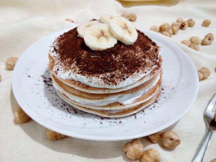 Pancake Tiramisù – Banana e Nocciole