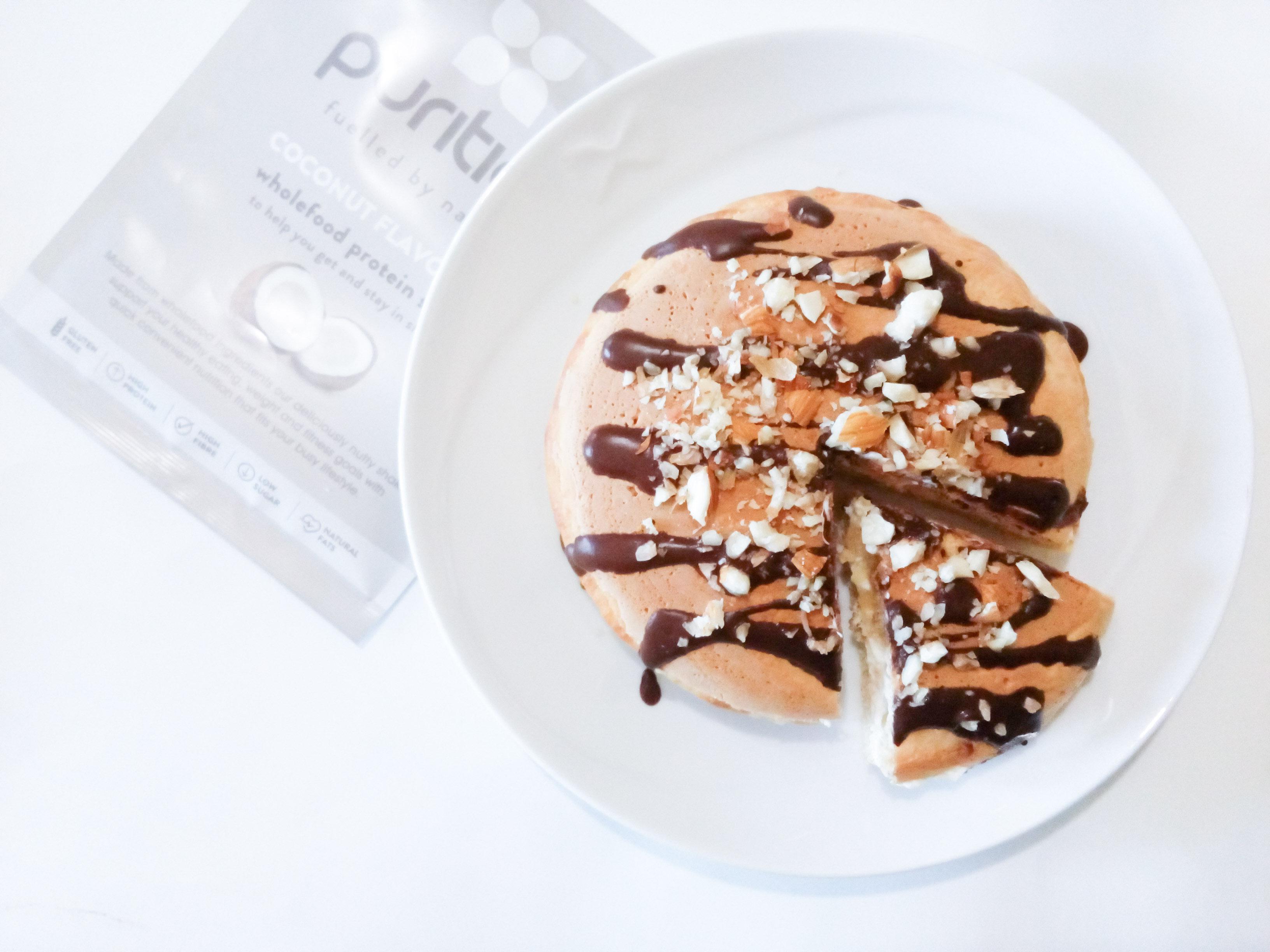 Protein Pancake Cocco & Mandorle