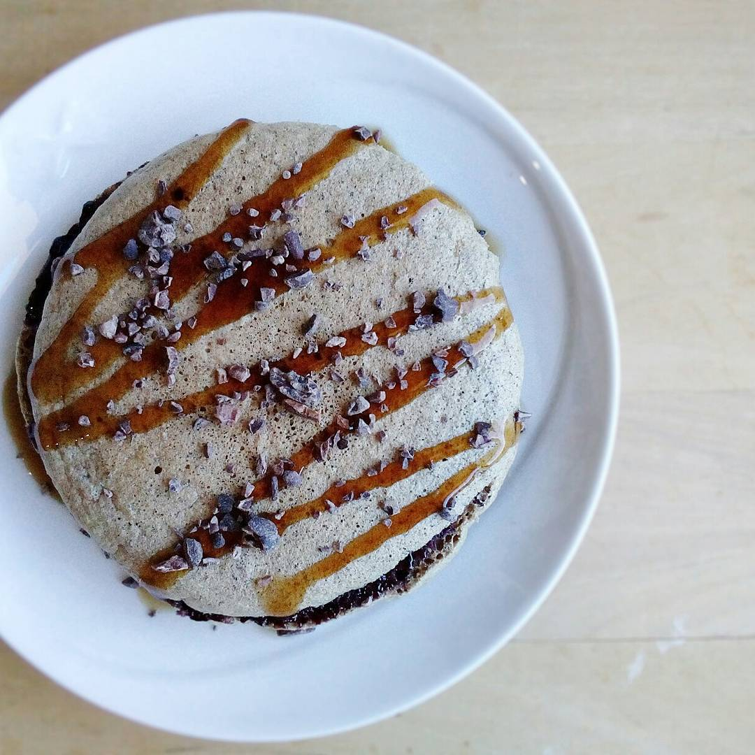 Pancake Mandorle, Nocciole & Cacao