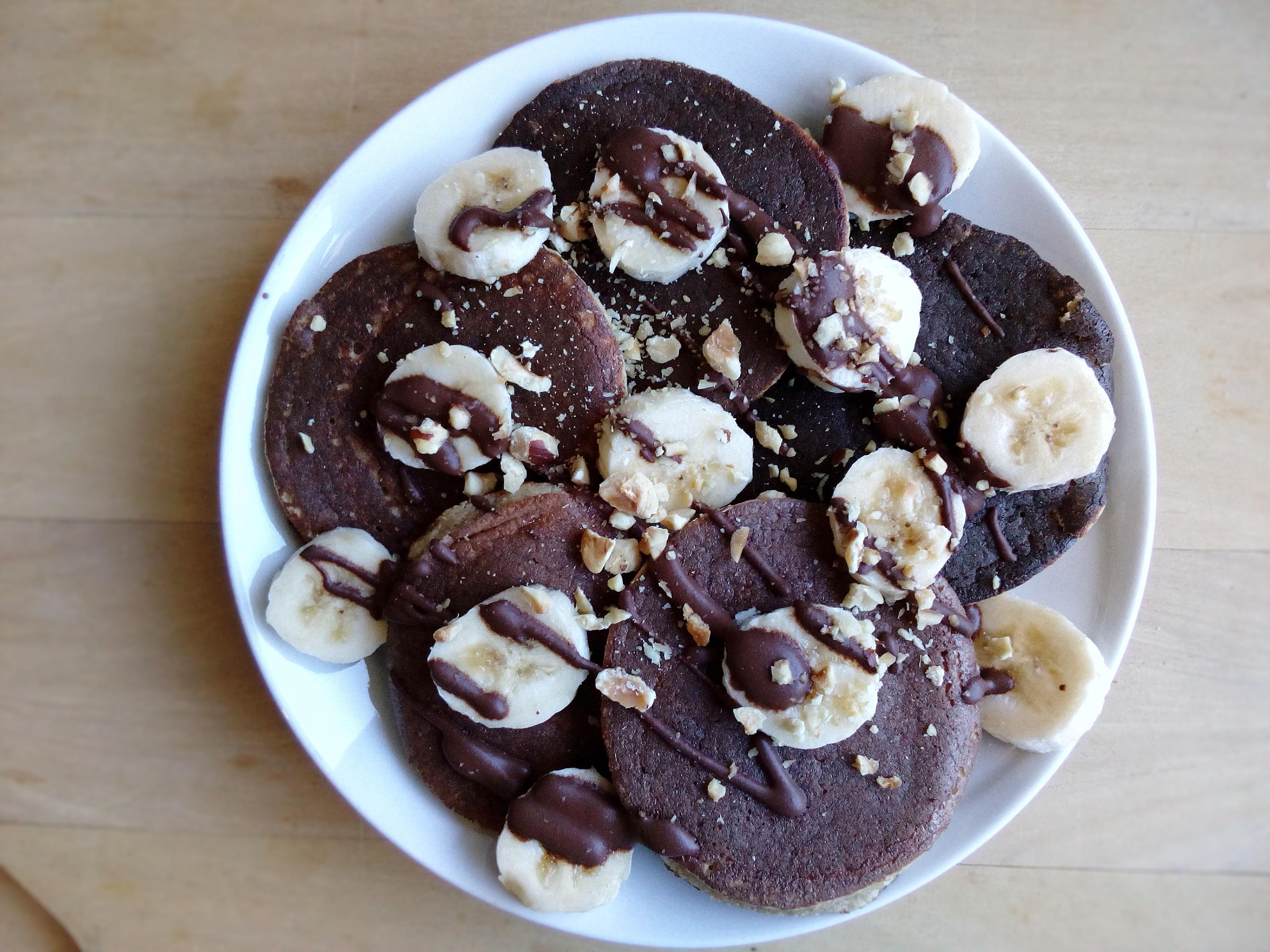 Pancake Banana, Cocco & Nocciole