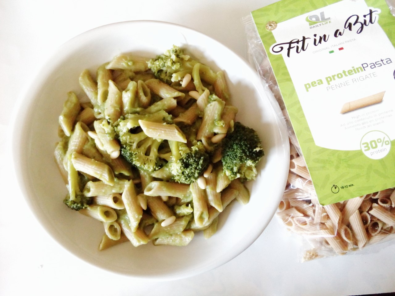 Penne rigate in crema di broccoli – Vegan