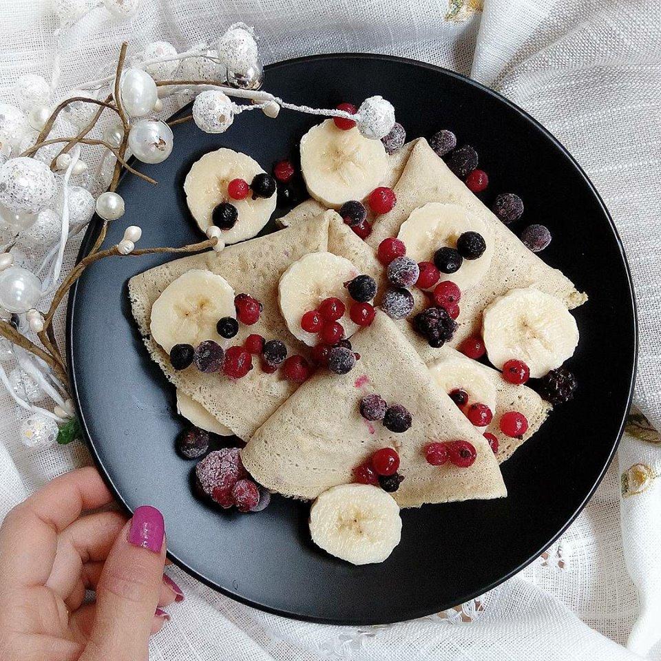 Protein crêpes alla vaniglia