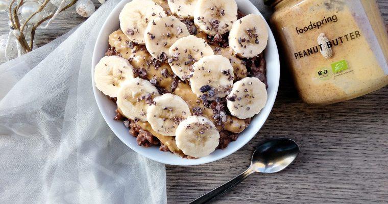Basic Porridge di avena – Cacao & Banana
