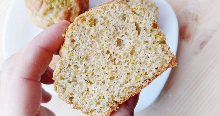 Muffin di Farro al Pistacchio