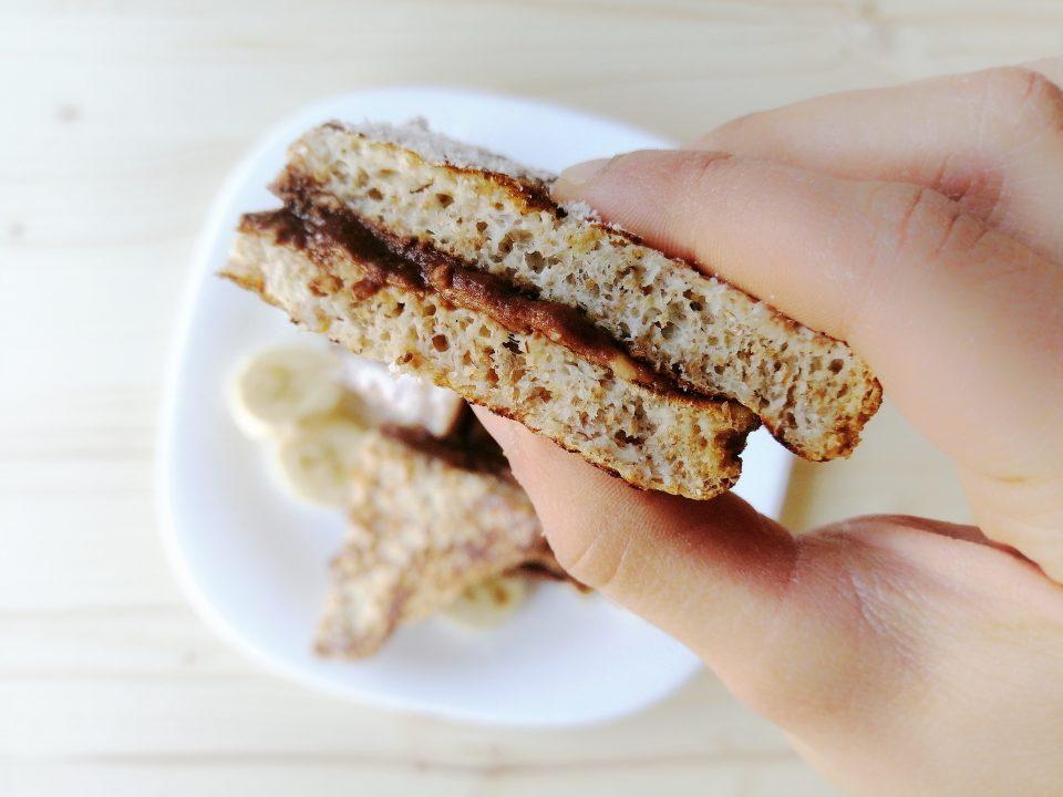 French Toast con ripieno al cacao