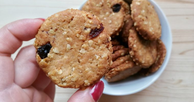 Biscottini Vegan – Cereali e Uvetta